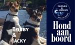 Bobby & Jacky Hond aan Boord Daemes en Heeren Sloepen Tender Cabins Sloepenpost Sloepenkaart Alles over sloepen Sloepenboekje Honden aan boord Trouwe viervoeters