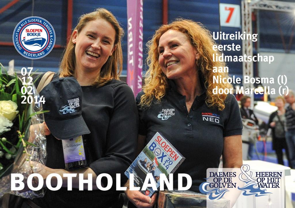 Marcella Boot Holland Leeuwarden 2014 Sloepen Cabins Tenders Sloepenboekje Daemes en Heeren Sloep Tender Cabin Sloepenkaart Sloepenpost
