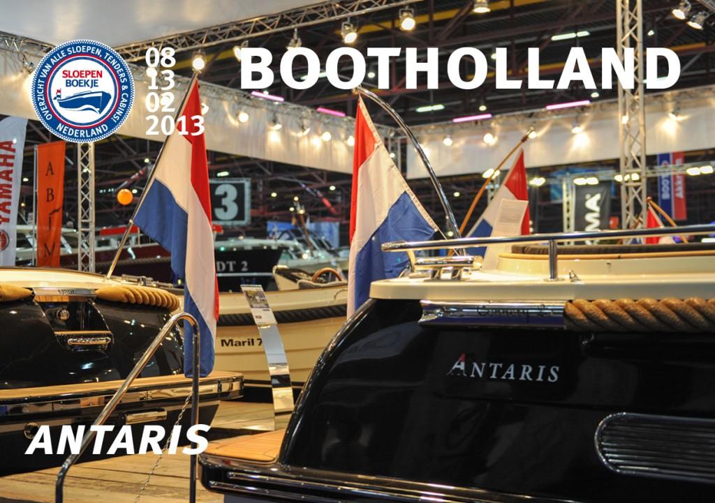 Antaris Maril Makma Boot Holland Leeuwarden 2013 Sloepen Cabins Tenders Sloepenboekje Daemes en Heeren Sloep Tender Cabin Sloepenkaart Sloepenpost