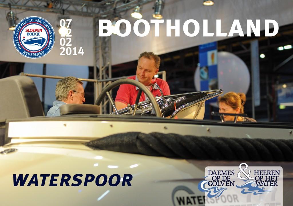 Waterspoor Boot Holland Leeuwarden 2014 Sloepen Cabins Tenders Sloepenboekje Daemes en Heeren Sloep Tender Cabin Sloepenkaart Sloepenpost