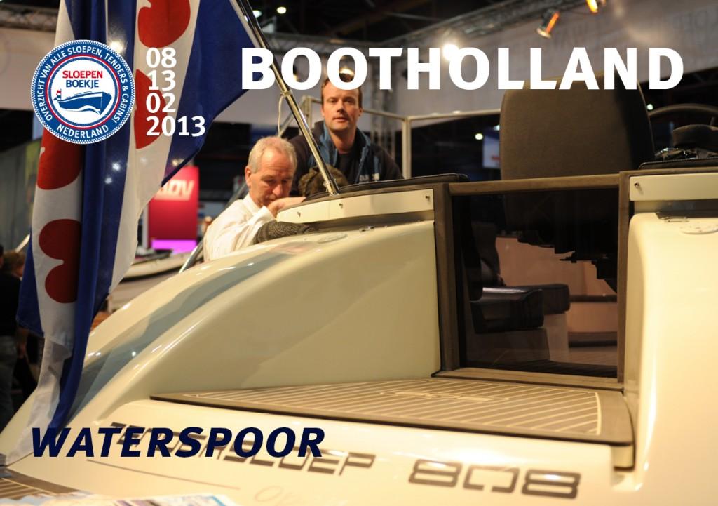 Waterspoor 808 Boot Holland Leeuwarden 2013 Sloepen Cabins Tenders Sloepenboekje Daemes en Heeren Sloep Tender Cabin Sloepenkaart Sloepenpost