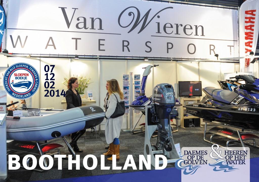 Van Wieren Watersport Yamaha Boot Holland Leeuwarden 2014 Sloepen Cabins Tenders Sloepenboekje Daemes en Heeren Sloep Tender Cabin Sloepenkaart Sloepenpost