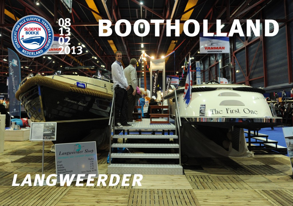 Langweerder Sloep Boot Holland Leeuwarden 2013 Sloepen Cabins Tenders Sloepenboekje Daemes en Heeren Sloep Tender Cabin Sloepenkaart Sloepenpost