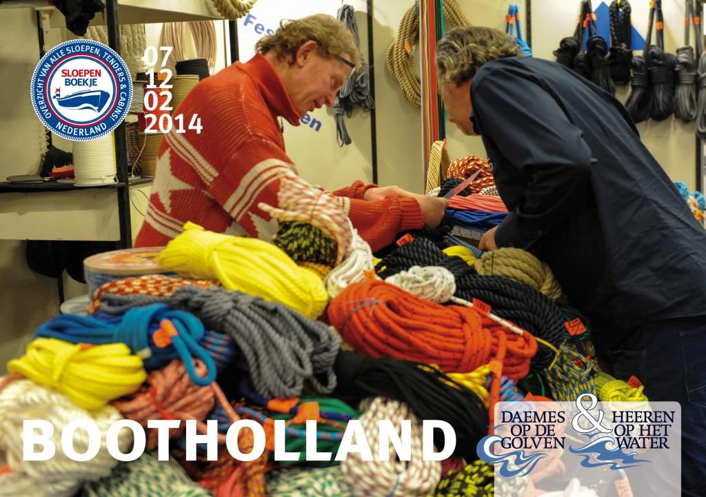 Boot Holland Leeuwarden 2014 Sloepen Cabins Tenders Sloepenboekje Daemes en Heeren Sloep Tender Cabin Sloepenkaart Sloepenpost