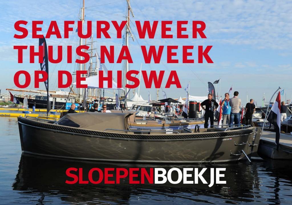 Seafury HISWA te Water 2012 Sloepen Cabins Tenders Sloepenboekje Daemes en Heeren Sloep Tender Cabin Sloepenkaart Sloepenpost