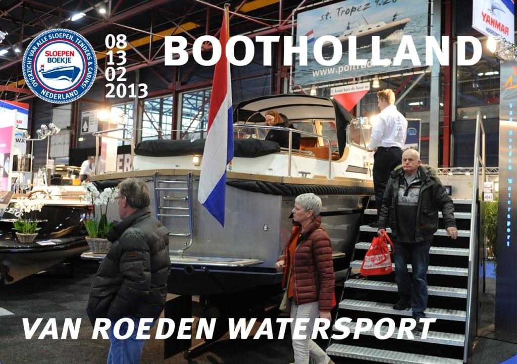Van Roeden Watersport Heeg Boot Holland Leeuwarden 2013 Sloepen Cabins Tenders Sloepenboekje Daemes en Heeren Sloep Tender Cabin Sloepenkaart Sloepenpost