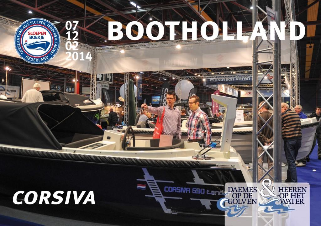 Corsiva 590 Tender Boot Holland Leeuwarden 2014 Sloepen Cabins Tenders Sloepenboekje Daemes en Heeren Sloep Tender Cabin Sloepenkaart Sloepenpost
