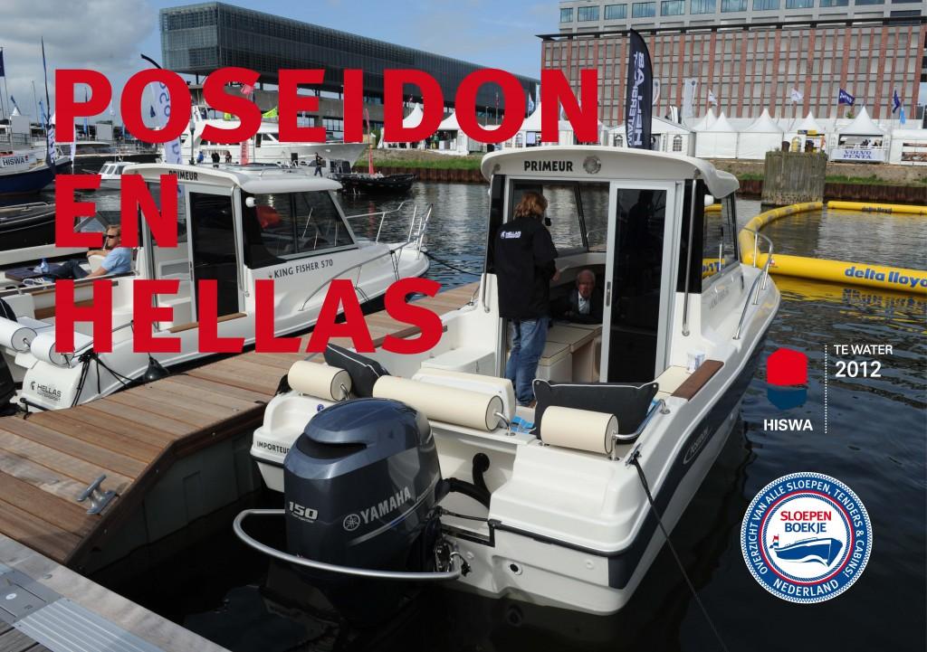 Hellas Watersport Poseidon Sloepen HISWA te Water 2012 Sloepen Cabins Tenders Sloepenboekje Daemes en Heeren Sloep Tender Cabin Sloepenkaart Sloepenpost