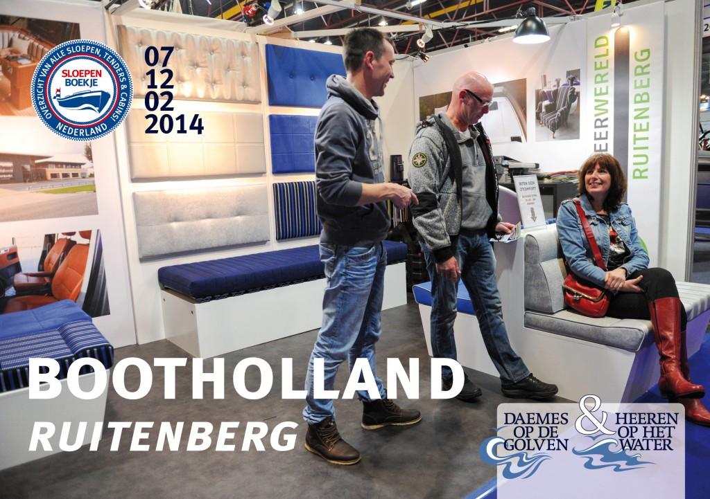 Ruitenberg Boot Holland Leeuwarden 2014 Sloepen Cabins Tenders Sloepenboekje Daemes en Heeren Sloep Tender Cabin Sloepenkaart Sloepenpost
