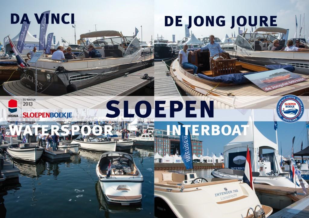 Da Vinci De Jong 840 Kajuitvlet Jachtwerf de Jong Joure Waterspoor Interboat Intender 760 HISWA te Water 2013 Sloepen Cabins Tenders Sloepenboekje Daemes en Heeren Sloep Tender Cabin Sloepenkaart Sloepenpost