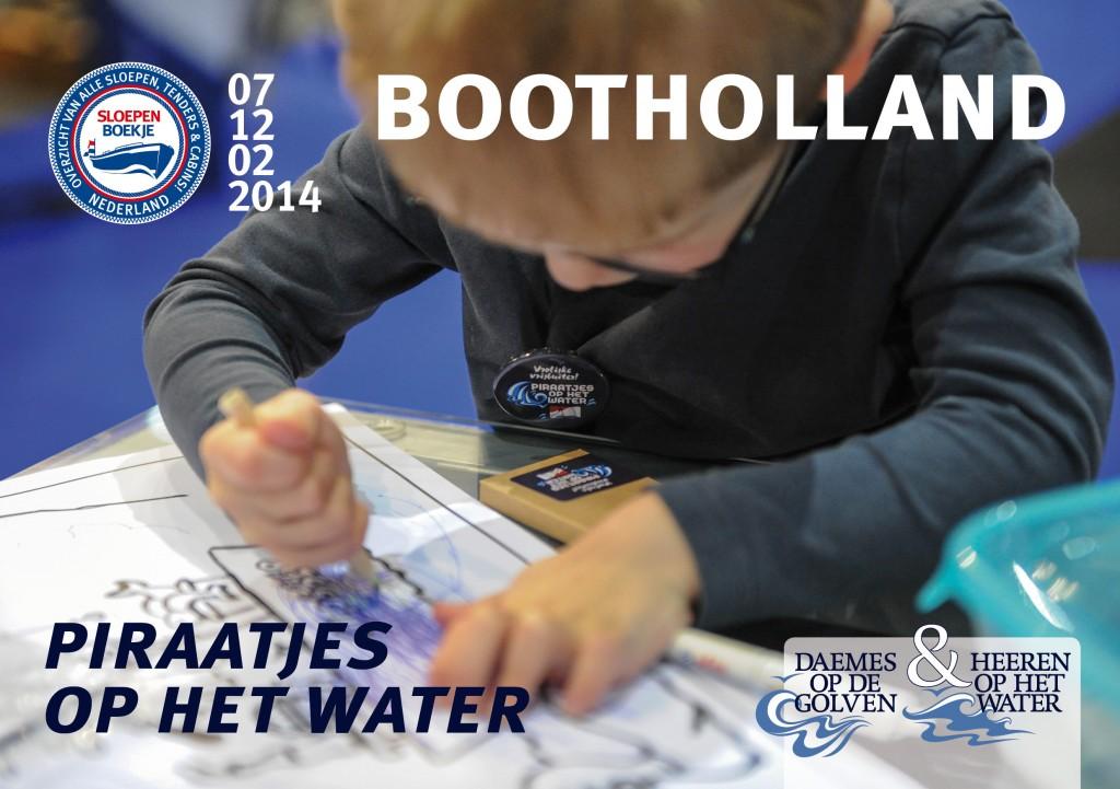 Piraatjes op het Water Boot Holland Leeuwarden 2014 Sloepen Cabins Tenders Sloepenboekje Daemes en Heeren Sloep Tender Cabin Sloepenkaart Sloepenpost