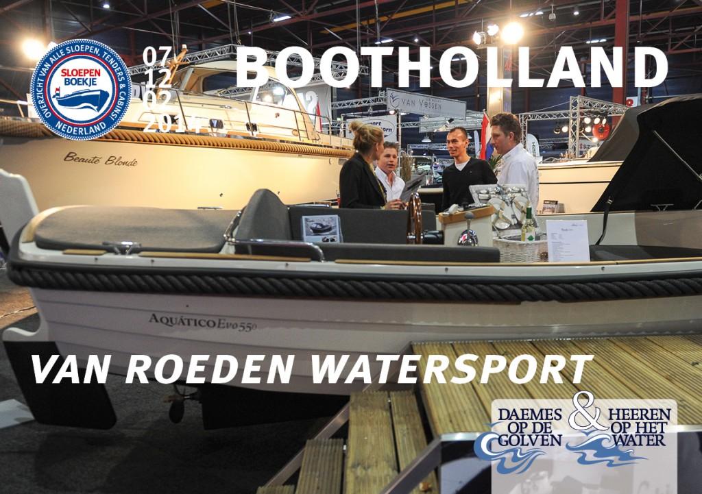 Van Roeden Watersport Aquatico Evo 550 Boot Holland Leeuwarden 2014 Sloepen Cabins Tenders Sloepenboekje Daemes en Heeren Sloep Tender Cabin Sloepenkaart Sloepenpost