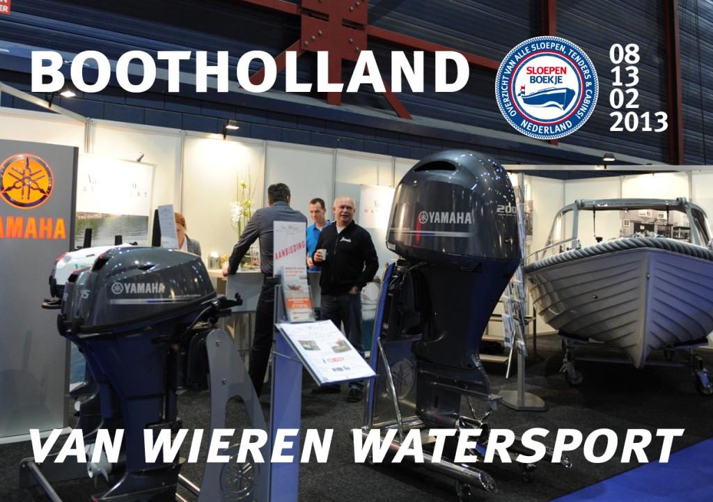 Van Wieren Watersport Yamaha Boot Holland Leeuwarden 2013 Sloepen Cabins Tenders Sloepenboekje Daemes en Heeren Sloep Tender Cabin Sloepenkaart Sloepenpost