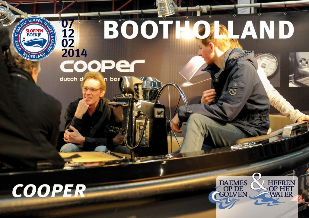Cooper 745 Boot Holland Leeuwarden 2014 Sloepen Cabins Tenders Sloepenboekje Daemes en Heeren Sloep Tender Cabin Sloepenkaart Sloepenpost