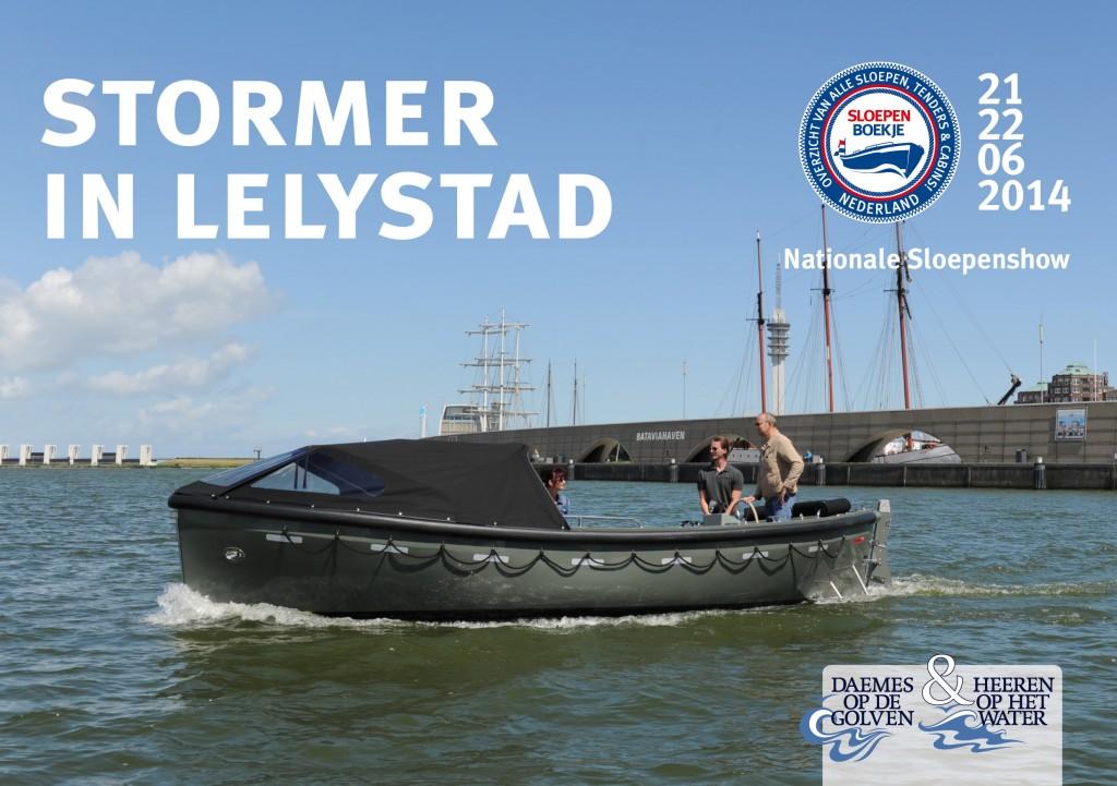 Stormer Marine Nationale Sloepenshow Lelystad 2013 Sloepen Cabins Tenders Sloepenboekje Daemes en Heeren Sloep Tender Cabin Sloepenkaart Sloepenpost
