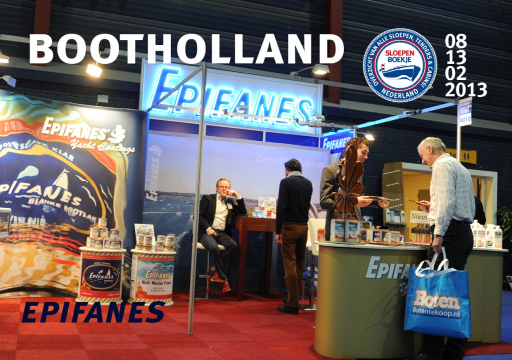 Epifanes Boot Holland Leeuwarden 2013 Sloepen Cabins Tenders Sloepenboekje Daemes en Heeren Sloep Tender Cabin Sloepenkaart Sloepenpost