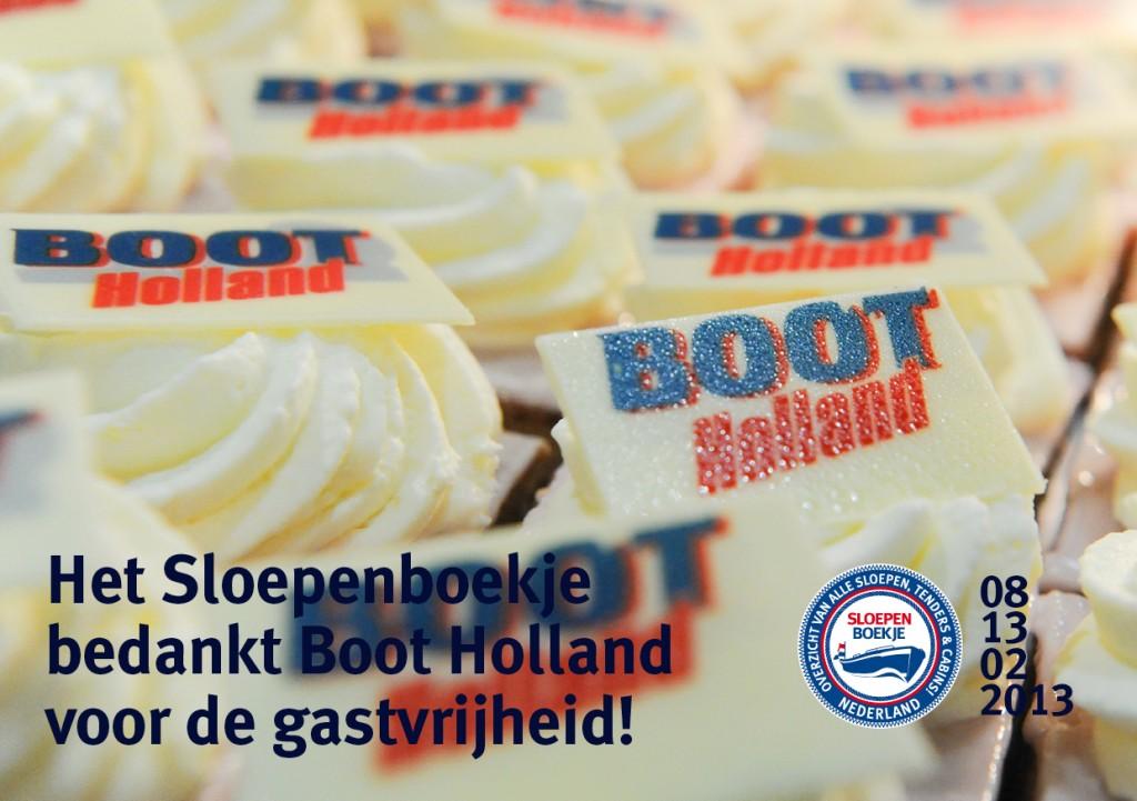 Boot Holland Leeuwarden 2013 Sloepen Cabins Tenders Sloepenboekje Daemes en Heeren Sloep Tender Cabin Sloepenkaart Sloepenpost