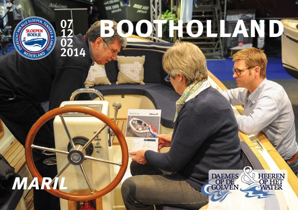 Maril 6.25 Makma Boot Holland Leeuwarden 2014 Sloepen Cabins Tenders Sloepenboekje Daemes en Heeren Sloep Tender Cabin Sloepenkaart Sloepenpost
