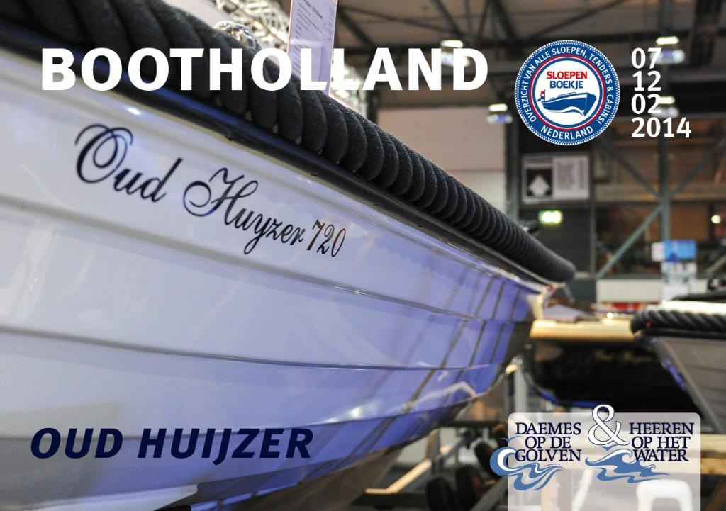 Oud Huijzer 720 Boot Holland Leeuwarden 2014 Sloepen Cabins Tenders Sloepenboekje Daemes en Heeren Sloep Tender Cabin Sloepenkaart Sloepenpost
