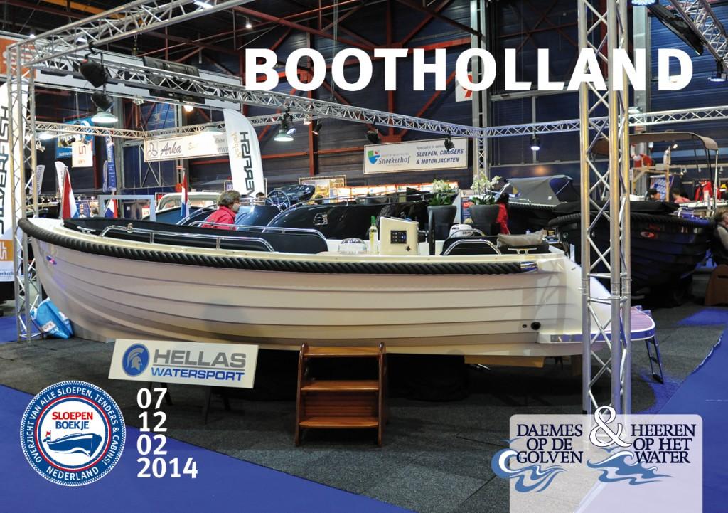 Hellas Watersport Boot Holland Leeuwarden 2014 Sloepen Cabins Tenders Sloepenboekje Daemes en Heeren Sloep Tender Cabin Sloepenkaart Sloepenpost