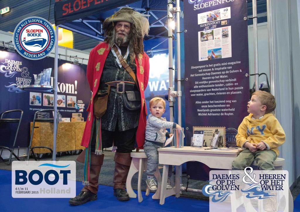 Leeuwarden Boot Holland Sloepen Tender Cabins Daemes en Heeren Sloepenboekje Sloepenkaart Sloepenpost Sloep Piraatjes op het Water