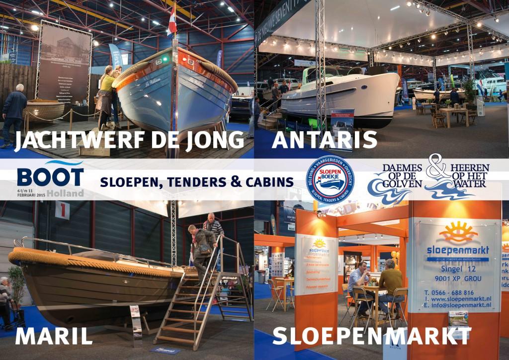 Leeuwarden Jachtwerf de Jong Joure Antaris Maril Sloepenmarkt Boot Holland Sloepen Tender Cabins Daemes en Heeren Sloepenboekje Sloepenkaart Sloepenpost Sloep Piraatjes op het Water