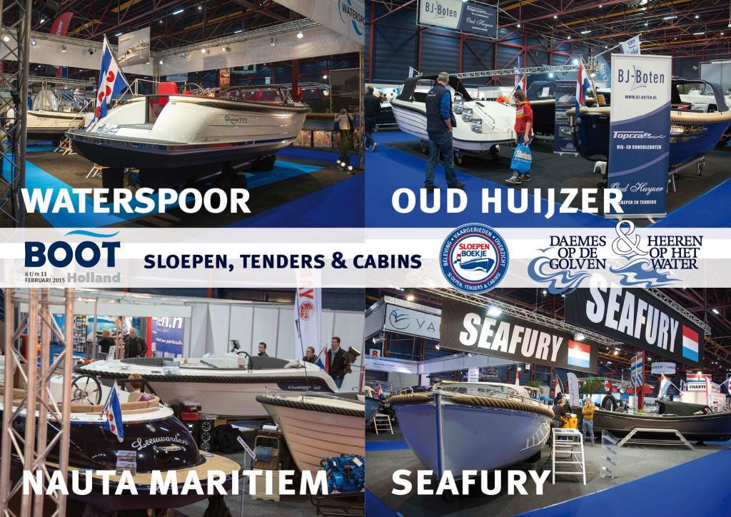 Leeuwarden Waterspoor Oud Huijzer Nauta Maritiem Seafury Boot Holland Sloepen Tender Cabins Daemes en Heeren Sloepenboekje Sloepenkaart Sloepenpost Sloep Piraatjes op het Water