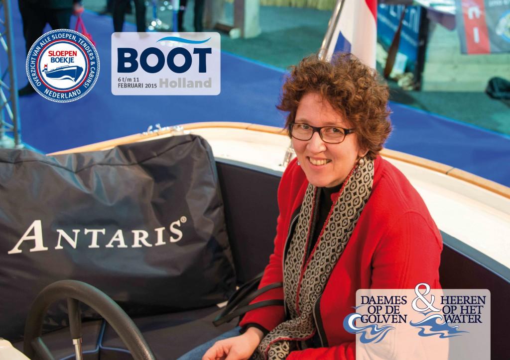 Leeuwarden Antaris Boot Holland Sloepen Tender Cabins Daemes en Heeren Sloepenboekje Sloepenkaart Sloepenpost Sloep Piraatjes op het Water