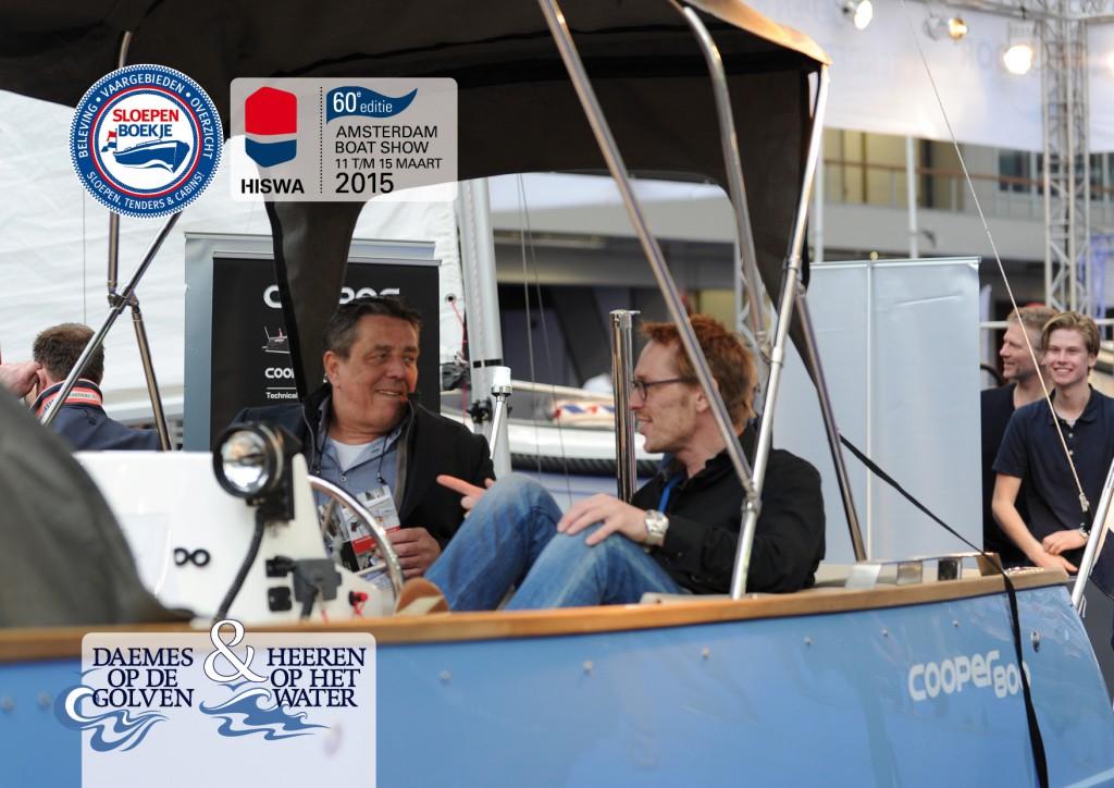 Cooper 800 Hiswa 2015 Amsterdam Daemes en Heeren Sloepen Tenders Cabins Sloepenboekje Sloepenpost Sloep Sloepenkaart Piraatjes op het Water