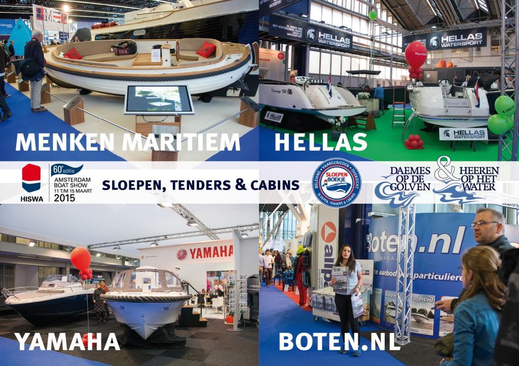 Menken Maritiem Piet Hein Sloep Yamaha Boten.nl Hellas Watersport Hiswa 2015 Amsterdam Daemes en Heeren Sloepen Tenders Cabins Sloepenboekje Sloepenpost Sloep Sloepenkaart Piraatjes op het Water