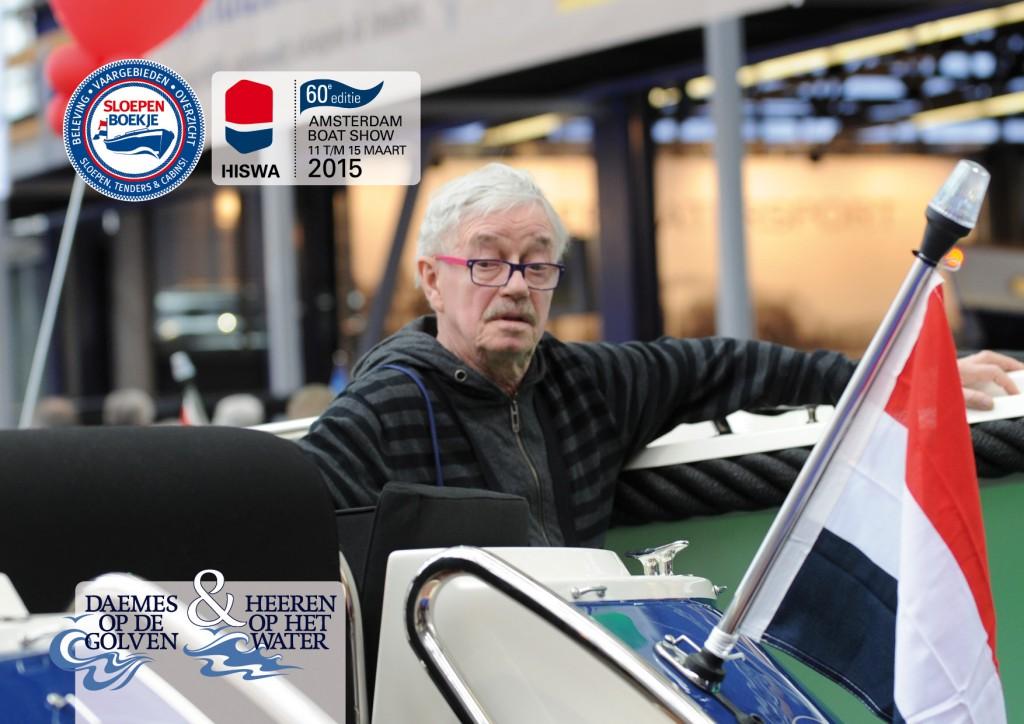 Hellas Watersport Hiswa 2015 Amsterdam Daemes en Heeren Sloepen Tenders Cabins Sloepenboekje Sloepenpost Sloep Sloepenkaart Piraatjes op het Water