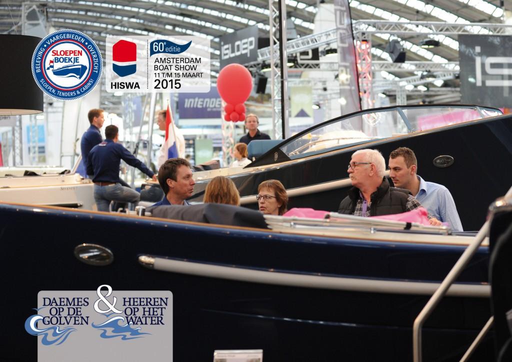 Antaris Peek Watersport Hiswa 2015 Amsterdam Daemes en Heeren Sloepen Tenders Cabins Sloepenboekje Sloepenpost Sloep Sloepenkaart Piraatjes op het Water