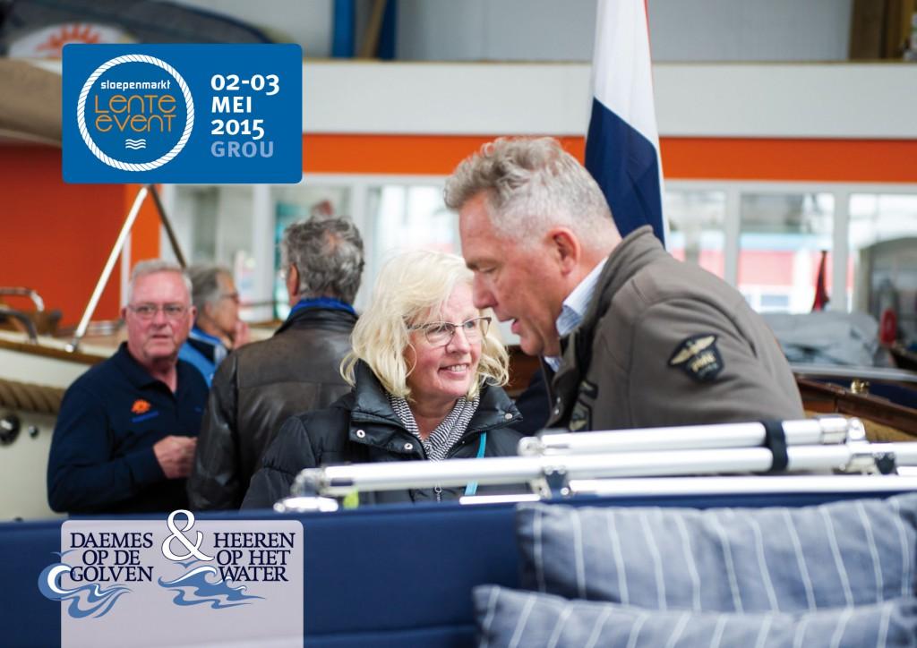 Sloepenmarkt Lente Event 2015 Daemes en Heeren Sloepen Tenders Cabins Beleving Sloepenboekje Sloep