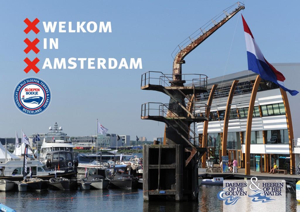 Daemes en Heeren Sloepen Cabins Tenders Sloepenboekje Sloepenkaart Amsterdam Beurs in Beeld