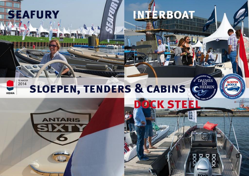 Dock Steel Seafury Interboat Antaris Sixty 6 Daemes en Heeren Sloepen Cabins Tenders Sloepenboekje Sloepenkaart Amsterdam Beurs in Beeld Yvonne Kagchelland