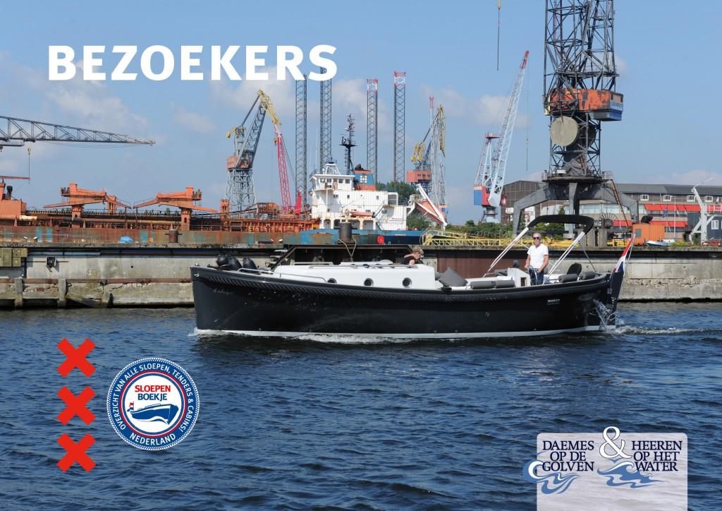 Nauta Cabin 960 Daemes en Heeren Sloepen Cabins Tenders Sloepenboekje Sloepenkaart Amsterdam Beurs in Beeld