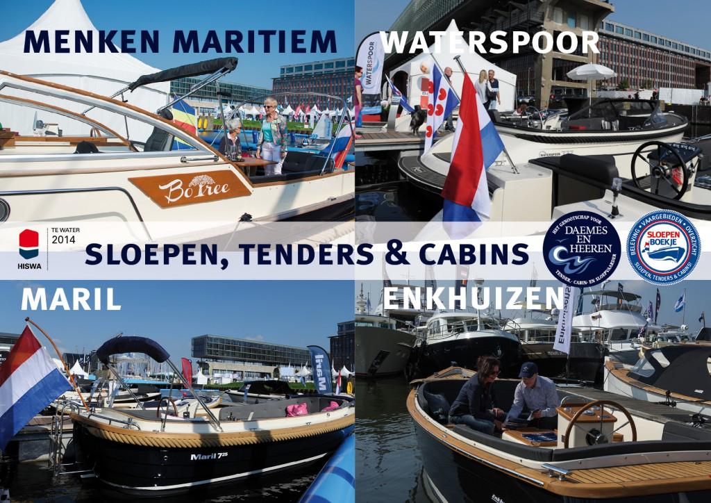 Menken Maritiem Waterspoor Maril Enkhuizensloep Daemes en Heeren Sloepen Cabins Tenders Sloepenboekje Sloepenkaart Amsterdam Beurs in Beeld