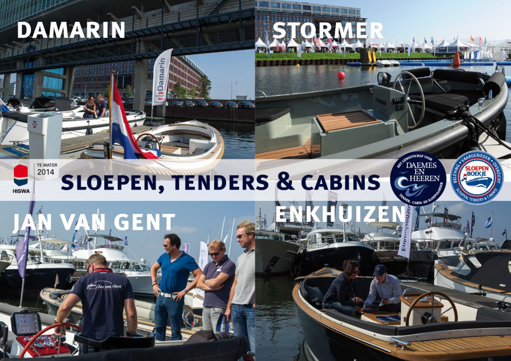 Damarin Jan van Gent Enkhuizensloep Stormer Marine Daemes en Heeren Sloepen Cabins Tenders Sloepenboekje Sloepenkaart Amsterdam Beurs in Beeld