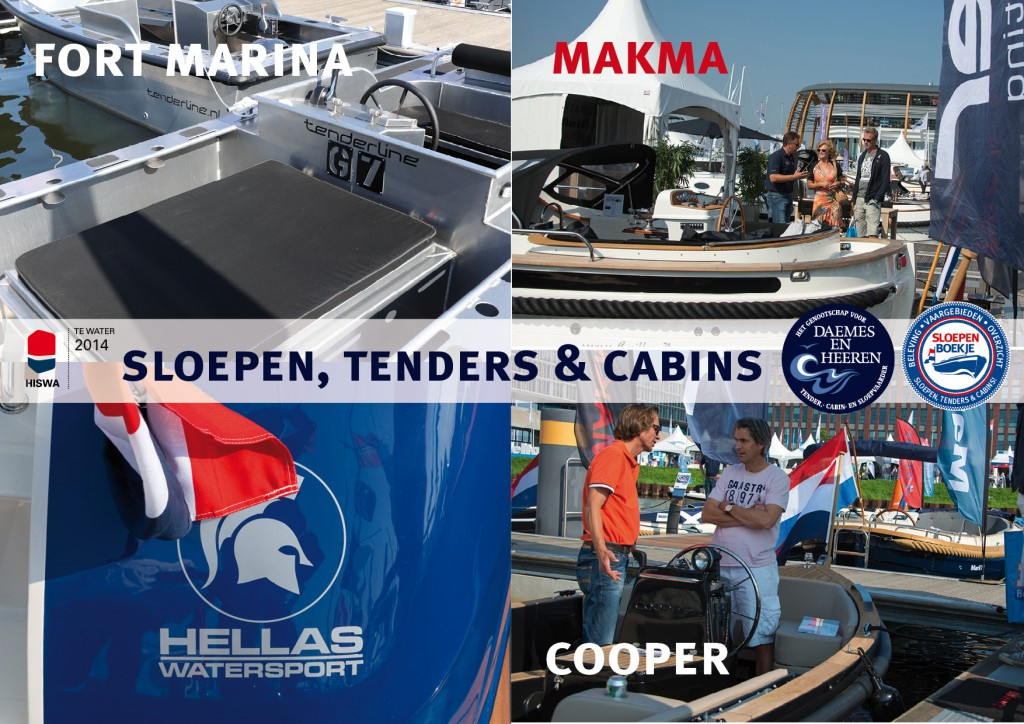 Fort Marina Makma Hellas Watersport Cooper Yachts Daemes en Heeren Sloepen Cabins Tenders Sloepenboekje Sloepenkaart Amsterdam Beurs in Beeld