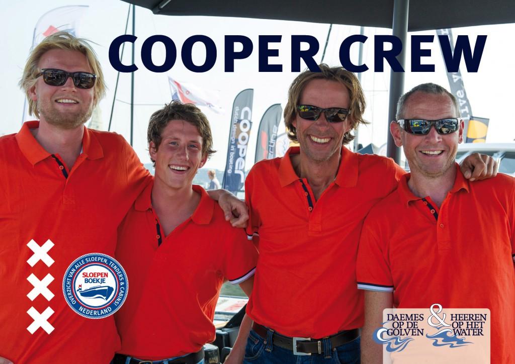 Cooper Yachts Daemes en Heeren Sloepen Cabins Tenders Sloepenboekje Sloepenkaart Amsterdam Beurs in Beeld