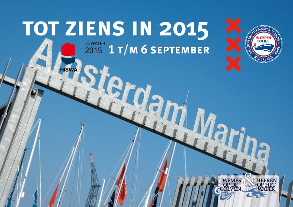 Amsterdam Marina Daemes en Heeren Sloepen Cabins Tenders Sloepenboekje Sloepenkaart Amsterdam Beurs in Beeld