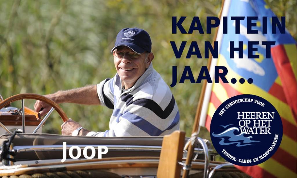 Joop Klop Enkhuizensloep Daemes en Heeren Enkhuizensloep 570 Kapitein van het jaar Sloeproutes Sloepenpost Grootebroek