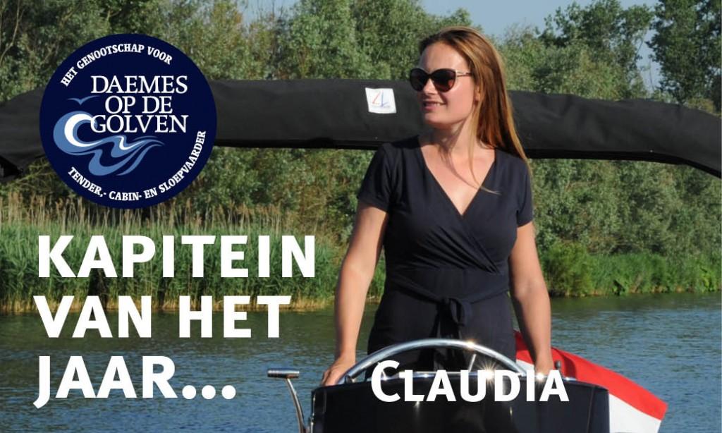 Claudia Spaans Kapitein van het Jaar Daemes en Heeren Nauta Spirit 25 Sloepenboekje, Sloepenkaart Sloepenroutes Alles over sloepen Sloepenpost Ik zoek een sloep