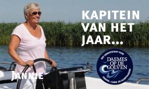 Jannie Alting Siberg Seafury sloepen Daemes en Heeren Seafury sloep Kapitein van het jaar Sloepenpost