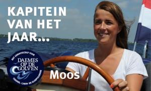 Moos van der Aart Daemes en Heeren Langweerder 650 sloep Kapitein van het jaar Sloepenpost
