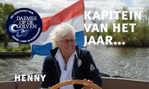 Henny Koetsveld Daemes en Heeren Kapitein van het jaar Sloepenpost Intercruiser Alles over sloepen