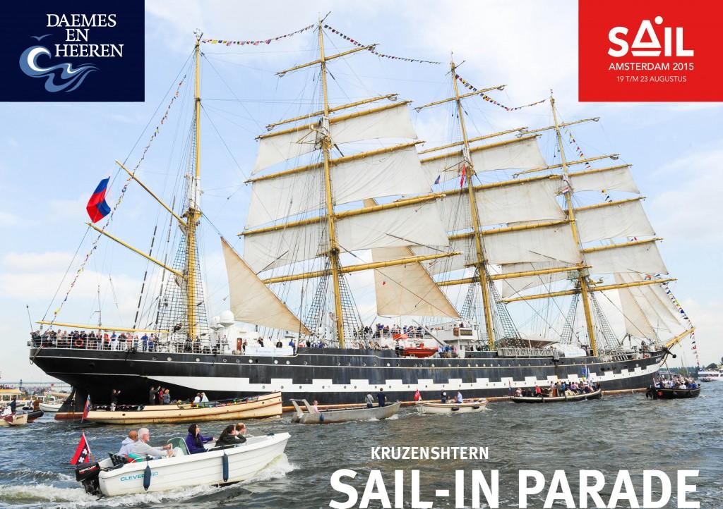 Makma sloep Sail 2015 Daemes en Heeren Sloepen Tenders Cabins Sloepenboekje Sloepenkaart Amsterdam Beleving Sloepenpost Sloep!