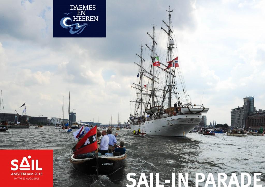 One off sloep Sail 2015 Daemes en Heeren Sloepen Tenders Cabins Sloepenboekje Sloepenkaart Amsterdam Beleving Sloepenpost Sloep!