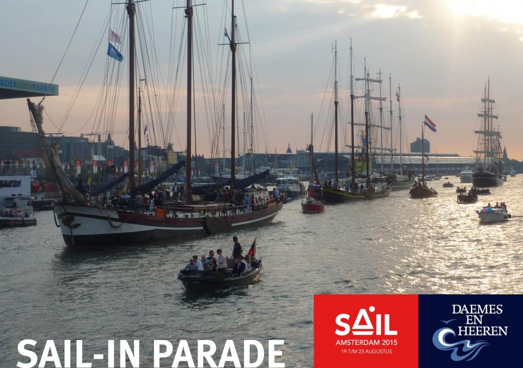 Sail 2015 Daemes en Heeren Sloepen Tenders Cabins Sloepenboekje Sloepenkaart Amsterdam Beleving Sloepenpost Sloep!