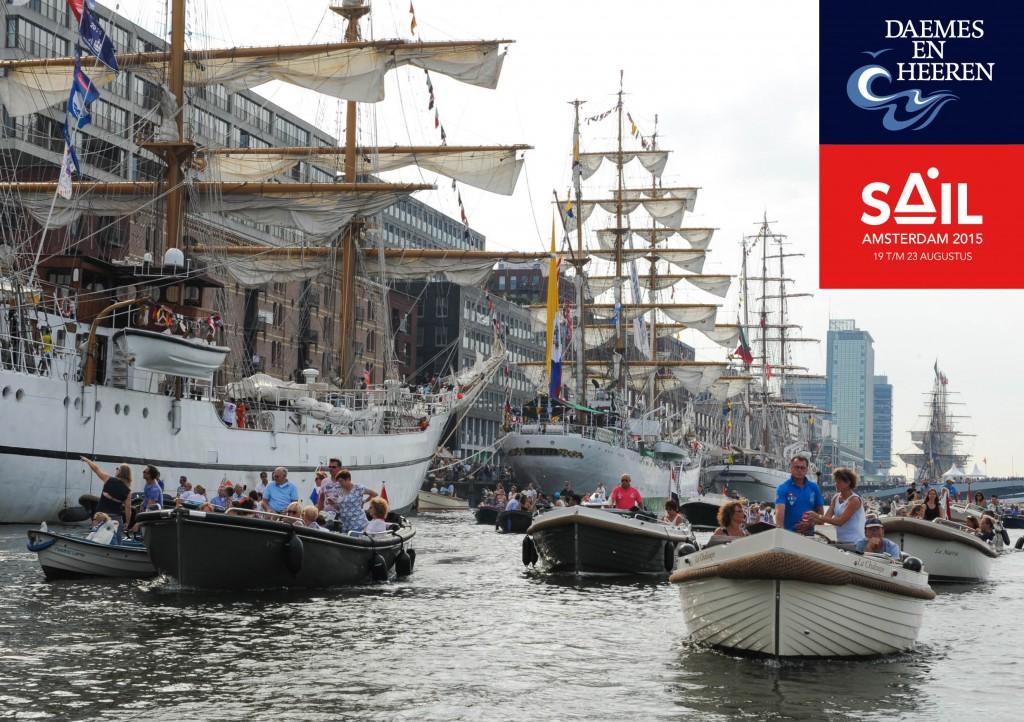 Intender Sloep JVG sloep Sail 2015 Daemes en Heeren Sloepen Tenders Cabins Sloepenboekje Sloepenkaart Amsterdam Beleving Sloepenpost Sloep!